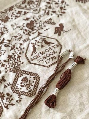 どどどうしよう・・。進むか戻るか・・。 - 浜松の刺繍教室 l'Atelier de foyu の 日々