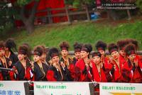草加ふささら祭り2018・・綾瀬川南側で夏舞徒は朝霞市より参加・・NO5 - 自然のキャンバス