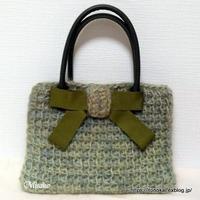 アフガン編みのバッグその3 - ルーマニアン・マクラメに魅せられて