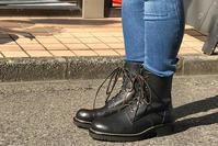 ステッチダウンブーツ - 手づくり靴 仄仄工房(ホノボノコウボウ)