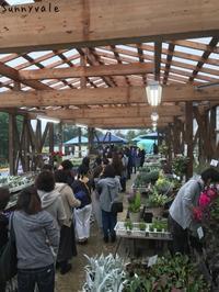 ありがとうございました!One-dayMarket2018Autumn - さにべるスタッフblog     -Sunny Day's Garden-
