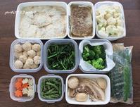 今週の作り置き&ミートローフ弁当 - 男子高校生のお弁当