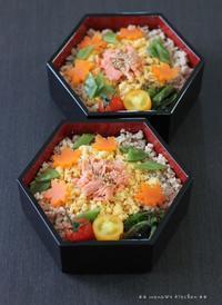 秋のそぼろ丼 ✿ ポトフ(๑¯﹃¯๑)♪ - **  mana's Kitchen **