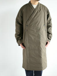 NEEDLESDown Samue Coat - Poly Ripstop / khaki - 『Bumpkins putting on airs』