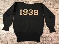 11月14日(水)マグネッツ大阪店ヴィンテージ入荷!!#5 アスレチック編!1938&Indian Brand!! - magnets vintage clothing コダワリがある大人の為に。
