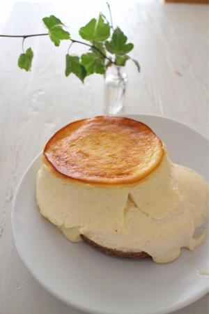 過去最低なチーズケーキ、さらけ出します!!! - おうちカフェ*hoppe