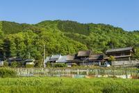 甲州市塩山下小田原上条の集落 - ふらりぶらりの旅日記