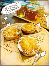 りんごのクランブルタルト🍎 - Cafe Myrtille