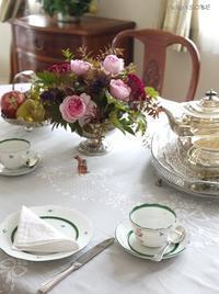 11月の紅茶レッスンアドバンスクラス - お茶をどうぞ♪