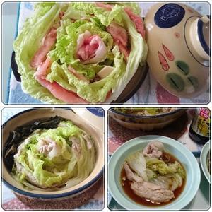 白菜と豚肉で - 気ままな食いしん坊日記2