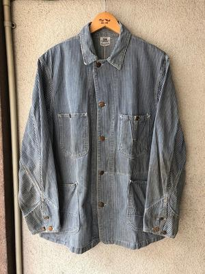 Lee 98-J Hickory Coverall - TideMark(タイドマーク) Vintage&ImportClothing