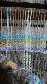 織りマフラー - natsu なつのまいにち