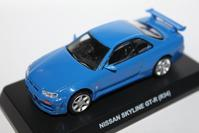 1/64 PAO FENG NISSAN Taiwan 7-11 Limited GT-R (R34) - 1/87 SCHUCO & 1/64 KYOSHO ミニカーコレクション byまさーる