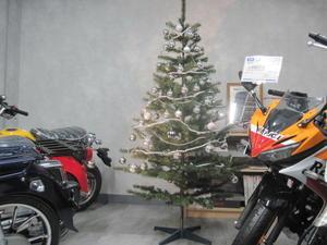 Xmasツリー - バイクの横輪