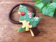 クリスマス作品①アイシングクッキーのヘアゴム - hanco*fass*