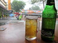 雨を見ていた午後 @ Bukit Merah View FC - よく飲むオバチャン☆本日のメニュー