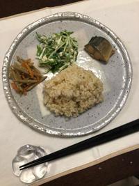 水菜の白和え - 庶民のショボい食卓