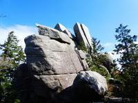国見尾根を下る国見岳 (1,170M)   下山 編 - 風の便り