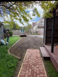 リノベーション:駐車場から玄関への通り道 - bluecheese in Hakuba & NZ:白馬とNZでの暮らし