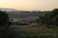 明日香村岡夕暮 - ぶらり記録:2 奈良・大阪・・・