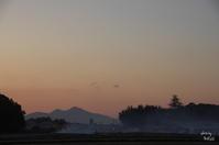 橿原市木の本町夕景 - ぶらり記録 2:奈良・大阪・・・