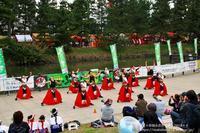 草加ふささら祭り2018・・綾瀬川南側で‥各連の舞NO7(完) - 自然のキャンバス