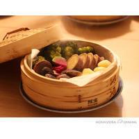 蒸し野菜に、あんかけごはん - HOSHIZORA DINING
