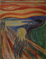 第55回《〜これまで誰も教えてくれなかった〜『絵画鑑賞白熱講座』》 ムンクと『叫び』 - ルドゥーテのバラの庭のブログ
