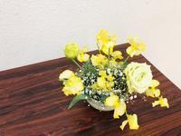 春が来た?? - Flower Days ~yucco*のフラワーレッスン&プリザーブドフラワー~