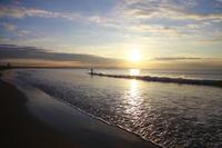 2018/11/14(WED) 雨上がりの澄んだ空と穏やかな海辺です。 - SURF RESEARCH