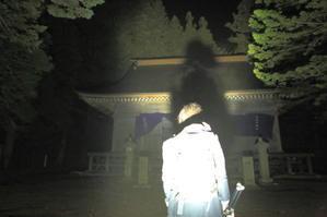 早池峯神社境内で、ちょっと気になる写真。 - 不思議空間「遠野」 -「遠野物語」をwebせよ!-