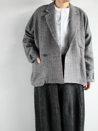 ASEEDONCLOUDOtavalo Jacket / Navy - 『Bumpkins putting on airs』