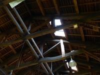 かやぶき屋根のアワビの貝殻?浦和くらしの博物館民家園から芝川第一調整池へ♪ - ルソイの半バックパッカー旅