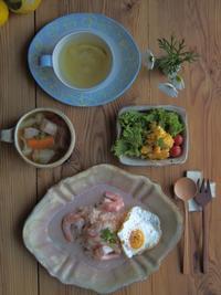 リゾット朝ごはん - 陶器通販・益子焼 雑貨手作り陶器のサイトショップ 木のねのブログ
