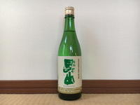 (新潟)根知男山 純米酒 / Nechiotokoyama Jummai - Macと日本酒とGISのブログ