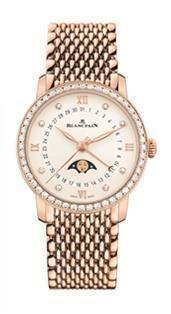 ブランパンヴィルレ ウーマン デイト ムーンフェイズRG - ブランド腕時計ガイド