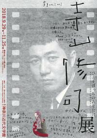寺山修司展@神奈川近代文学館 - 戦場の旗手