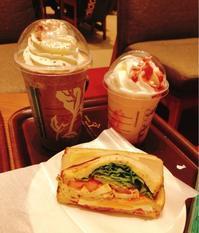 777、  STARBUCKS  COFFEE - KRRKmama@福岡 の外食日記