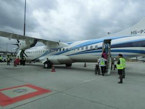 バンコク・エアウェイズの機内食 - イ課長ブログ