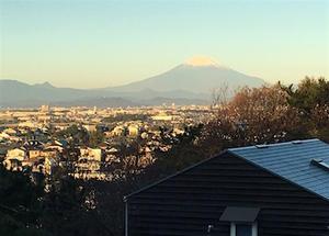 富士山とおじさん - アトリエkotori*のほほん柴犬日和