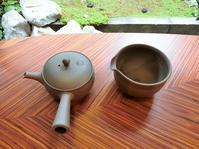 茶論限定焼き〆急須&湯冷ましセット完成 - 茶論 Salon du JAPON MAEDA