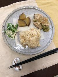 さつまいもの甘煮 - 庶民のショボい食卓