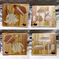 デザフェスあれこれ・part 2 木工部の新作 - 布と木と革FHMO-DESIGNS(エフエッチエムオーデザインズ)Favorite Hand Made Original Designs
