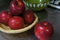 可愛らしい色の林檎ジャム - ほのぼのはうす