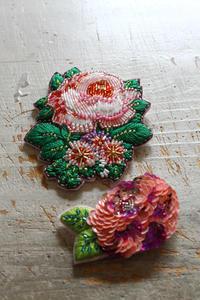 マリーさんの夢のある作品をお迎えしました - フェルタート(R)・オフフープ(R)立体刺繍作家PieniSieniのブログ