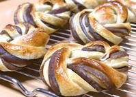 甘栗あんぱん&ミックス山食? - ~あこパン日記~さあパンを焼きましょう