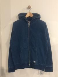 BLUE BLUE / FRUIT OF THE LOOM BLUBLUE INDIGO SLAB ZIP PARKA - Safari ブログ
