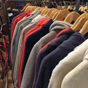 vintage sweat parkaでスタイリング - plywood used clothing service & furniture