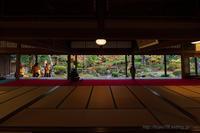 豪農の館 紅葉 - デジタルで見ていた風景