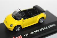 1/64 Schuco Volkswagen New Beetle Cabrio - 1/87 SCHUCO & 1/64 KYOSHO ミニカーコレクション byまさーる